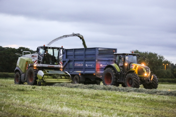 First cut grass silage 2014