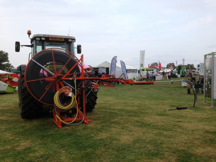 The Homburg Drain Jetter out on display