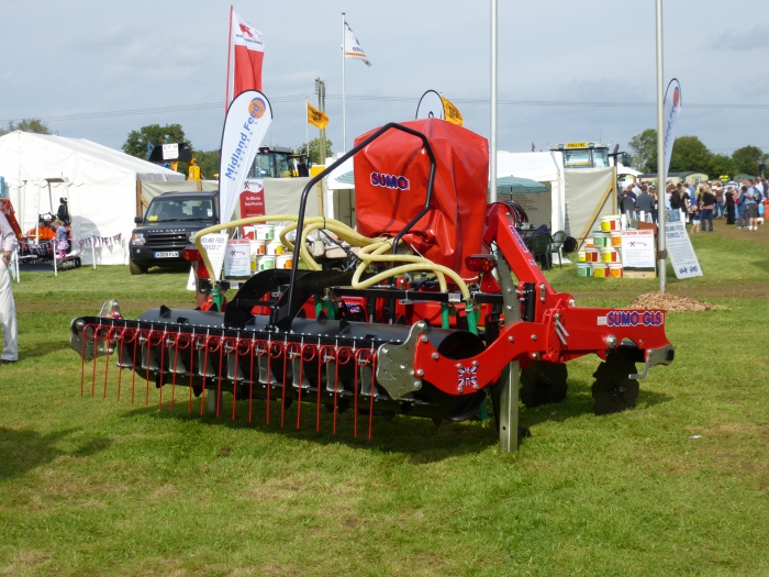 Our Sumo Sward Lifter on display at Moreton Show 2012