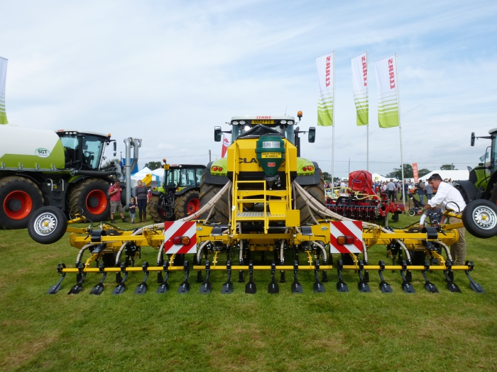 The Claydon Drill on display at Moreton Show 2012