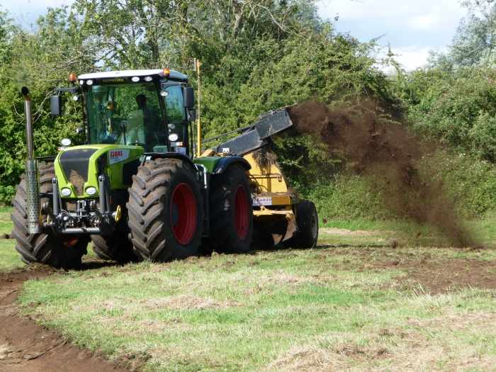 Rotary ditcher