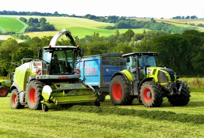 Second Cut Grass Silage 2014
