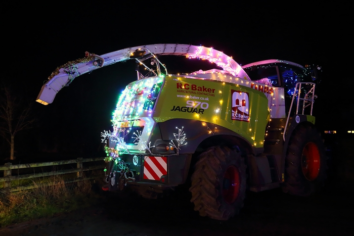 Our Jaguar 970 looking very festive!