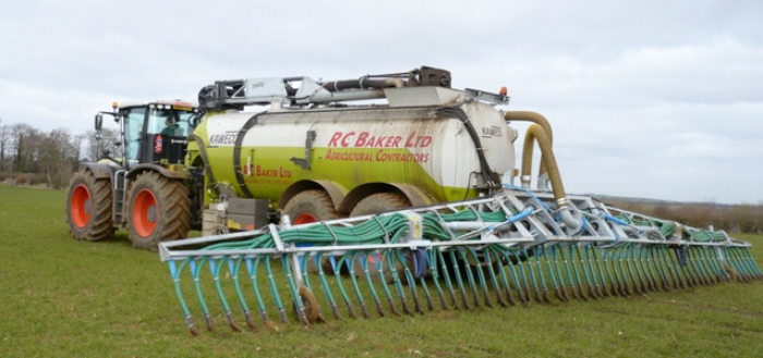 The Kaweco tanker is fitted with a 30m Vogelsang boom