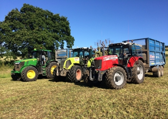 A pick 'n' mix silage team