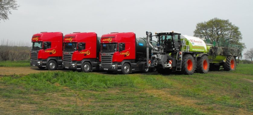 SGT and Agrivert Lorries